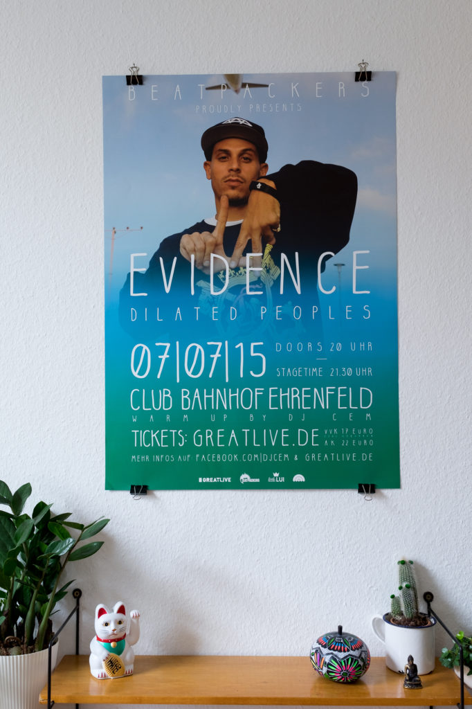 BEATPACKERS – Evidence Plakat